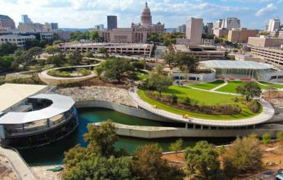 largest park downtown austin