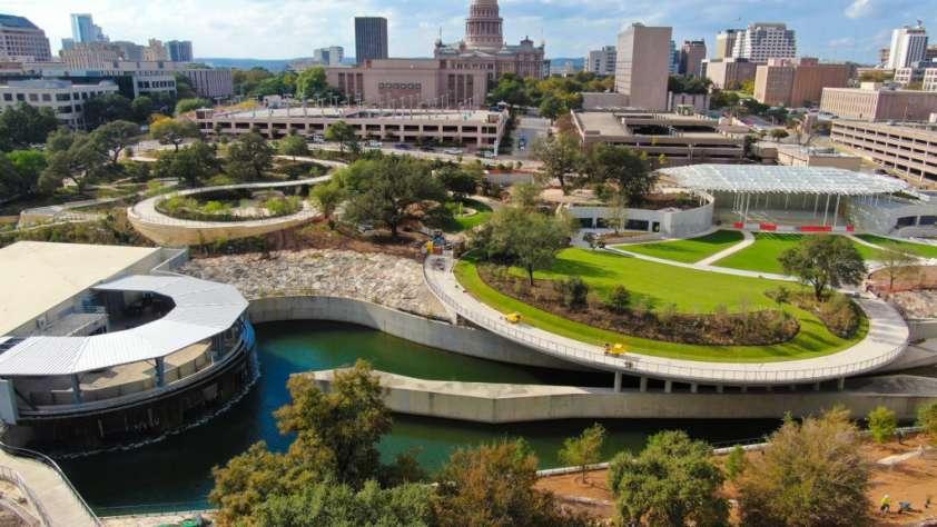 largest park downtown austin