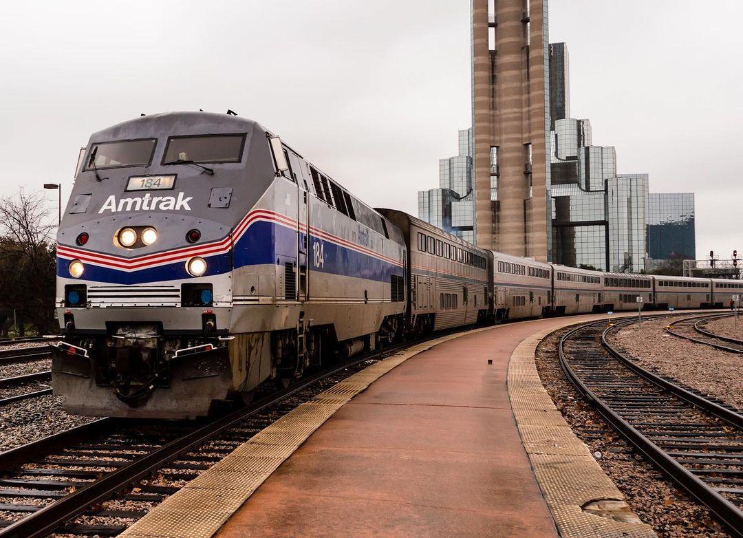 texas eagle train