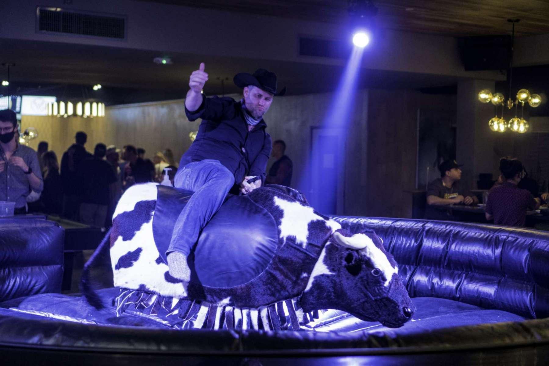 mechanical bull bar austin