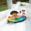 World's Largest Inflatable Tubing Slip & Slide Makes a Splash in San Antonio