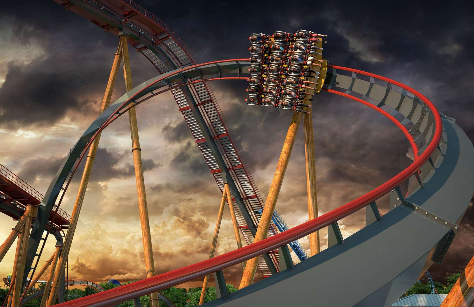 world's steepest roller coaster