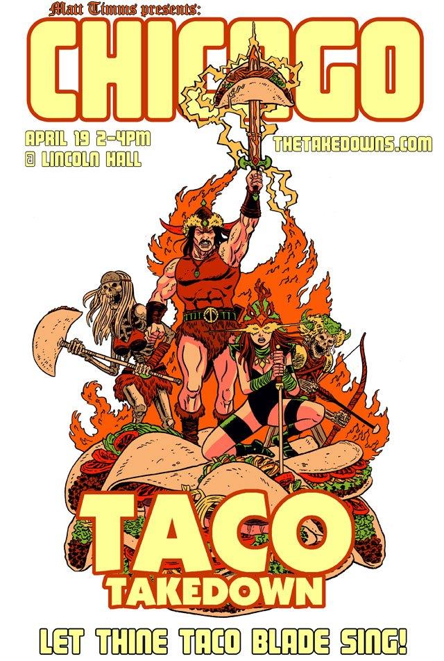 Taco Takedown
