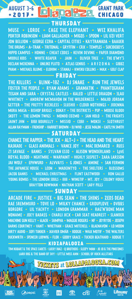 lollapalooza guide