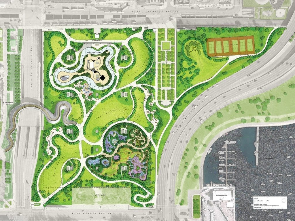 Maggie Daley Park Map