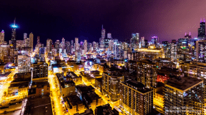 Time-Lapse Video of Chicago