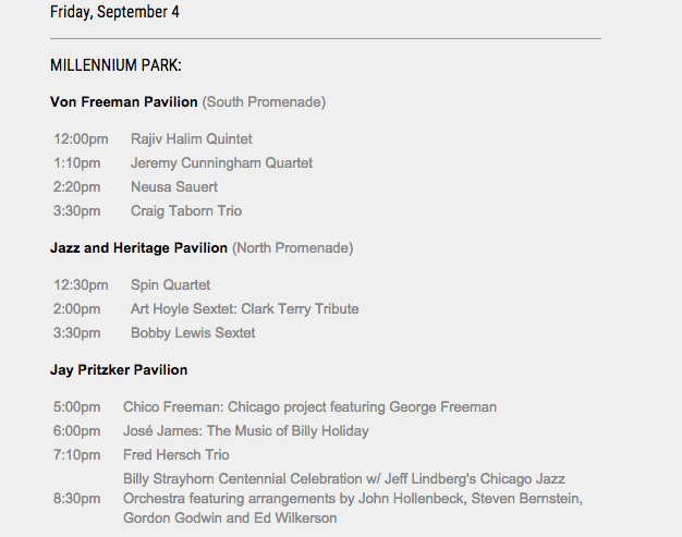 Friday, September 4
