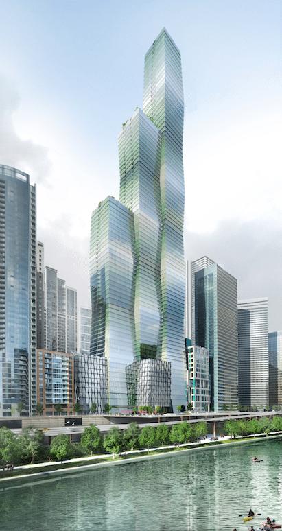 Wanda Vista New Chicago Skyscraper