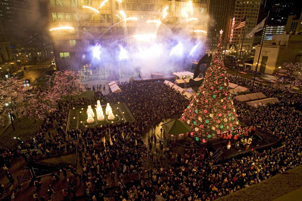 christmas tree lighting chicago. Chicago Tree Lighting Ceremony Christmas H