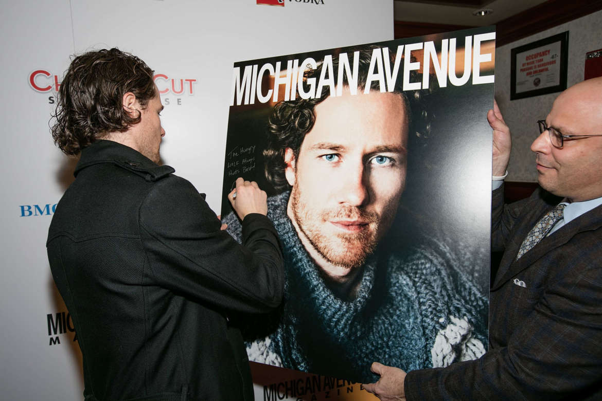 Michigan Avenue Magazine's November Cover Celebration With Duncan Keith Presented By BMO Harris Bank At Chicago Cut Steakhouse
