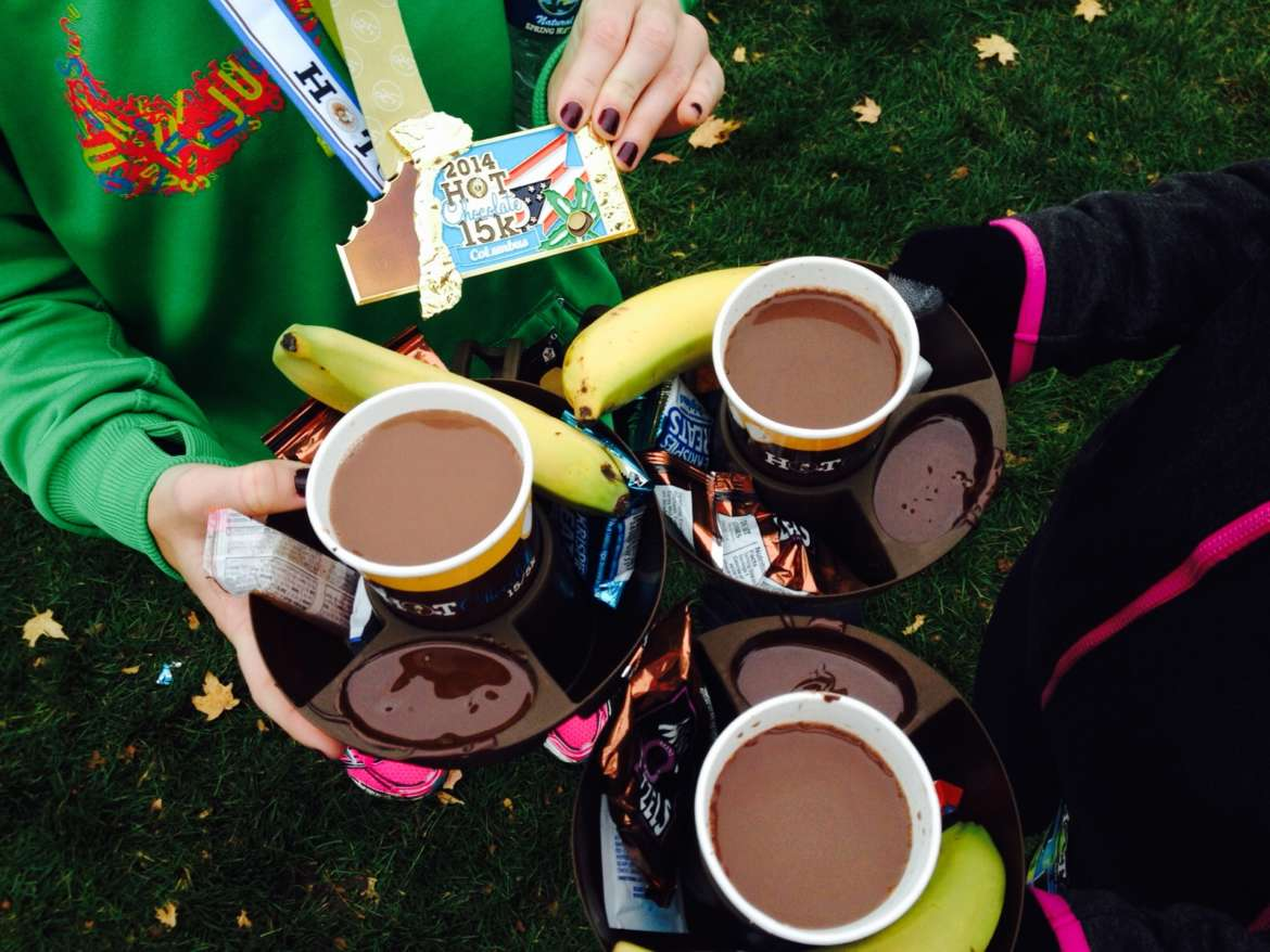 Will Run for Chocolate: The Hot Chocolate 15/5K | UrbanMatter