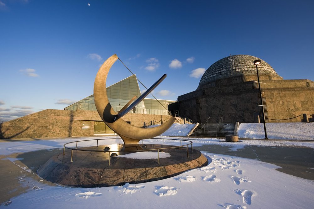 Holidays at Adler Planetarium