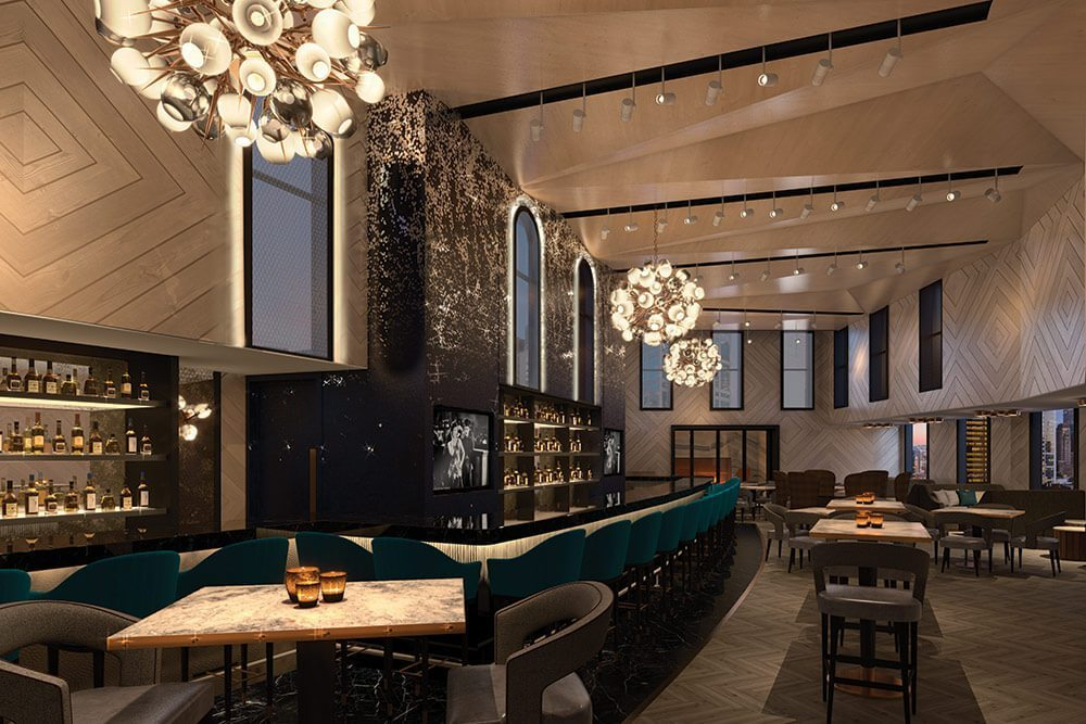 Chicago s new tri level rooftop bar looks remarkable for Small luxury hotels chicago