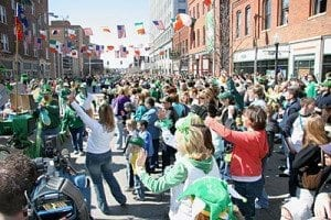 St. Patricks Day Downtown Parade