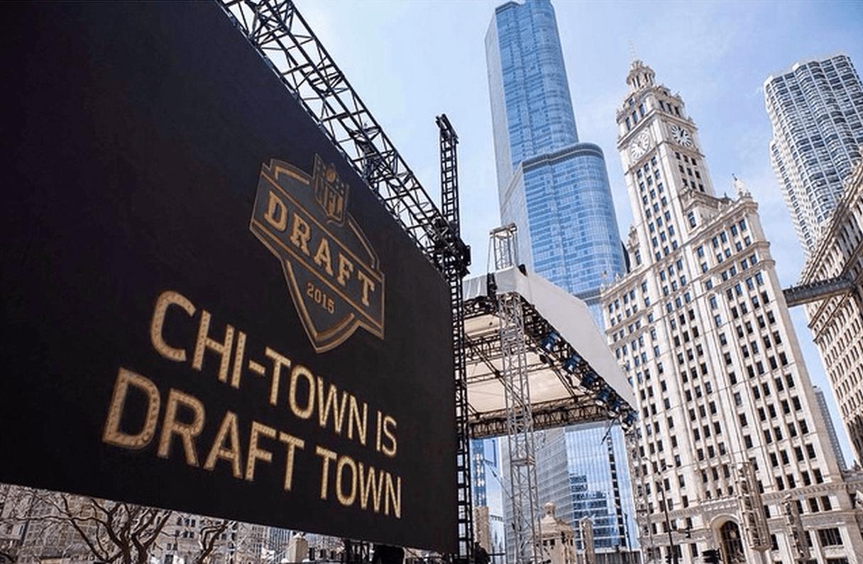NFL Draft Town Ferris Wheel