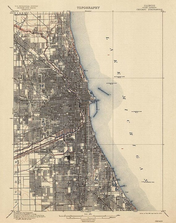 8 Chicago Maps You Need To Hang On Your Wall Right Now