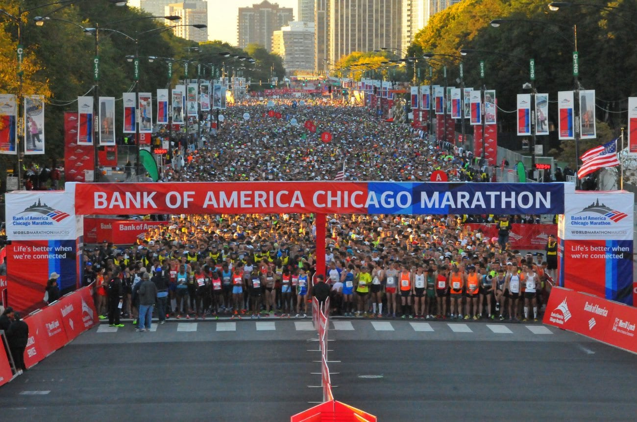 Image result for BANK OF AMERICA CHICAGO MARATHON AND ABBOTT HEALTH & FITNESS 2018 Lakeside Center at McCormick Place