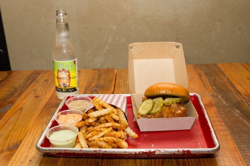 Leghorn's Nashville Hot is the best chicken sandwich in town