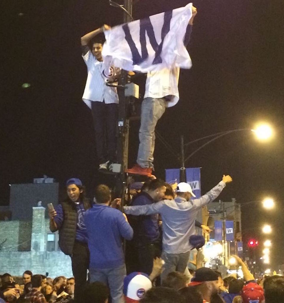 chicago cubs world series parade