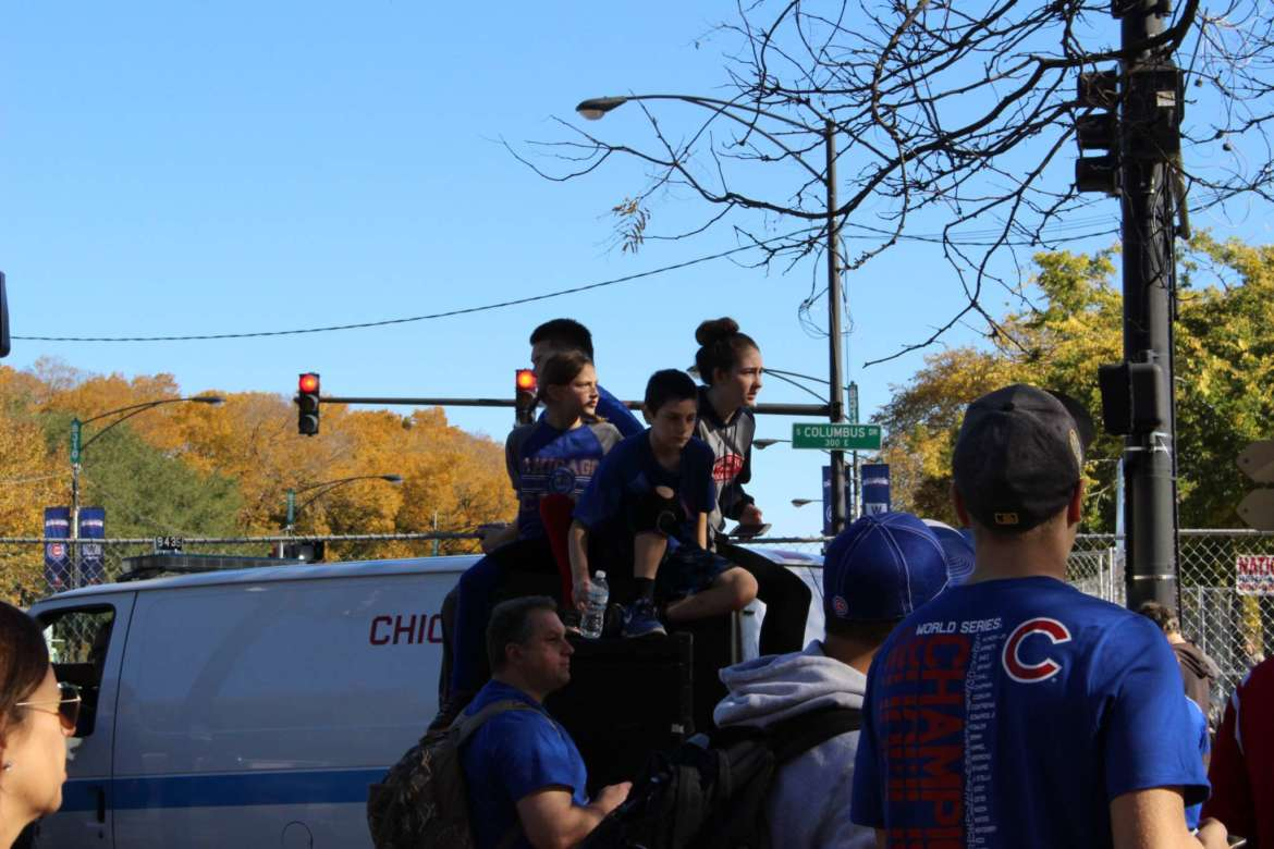 The Best Snapshots from the Cubs World Series Parade UrbanMatter