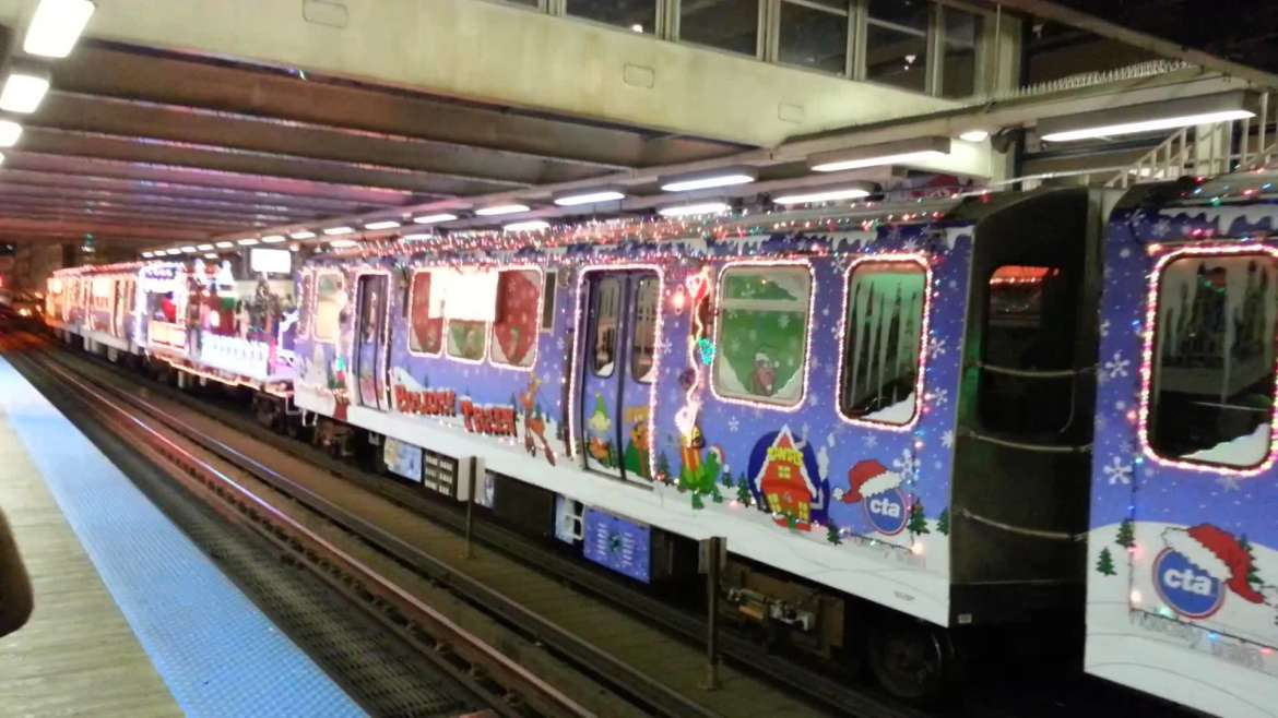 its time to ride the cta holiday trains urbanmatter - Chicago Christmas Station