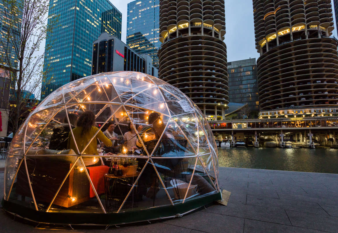 City Winery S See Through Domes Return To The Chicago