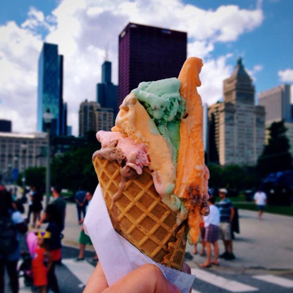 rainbow cone chicago