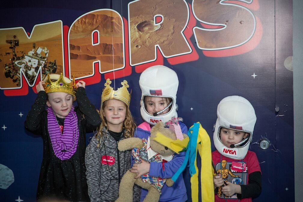 adler planetarium mardi gras
