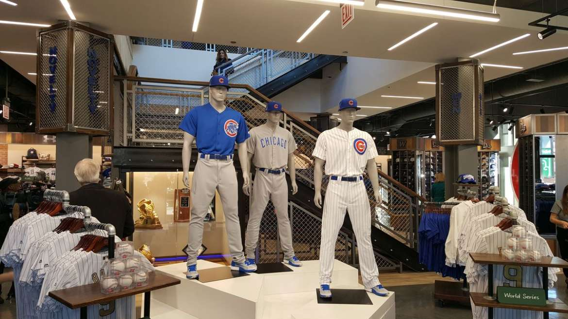 new cubs store