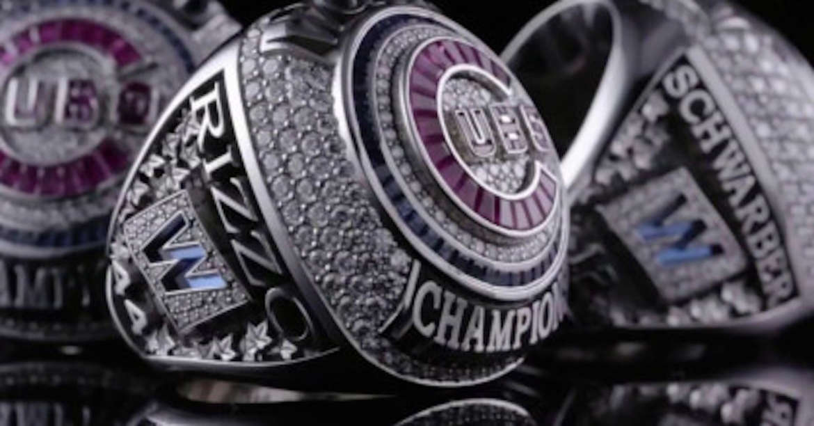 cubs world series rings