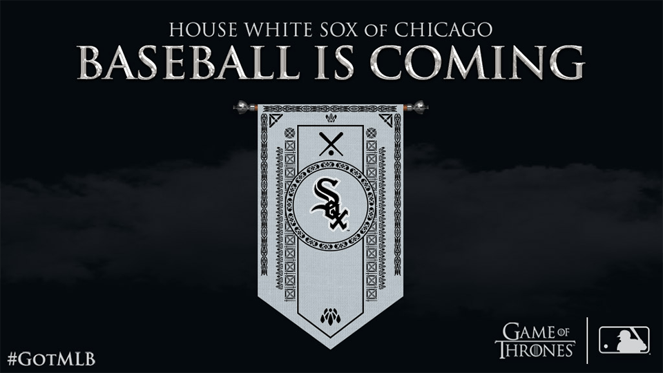 white sox game of thrones