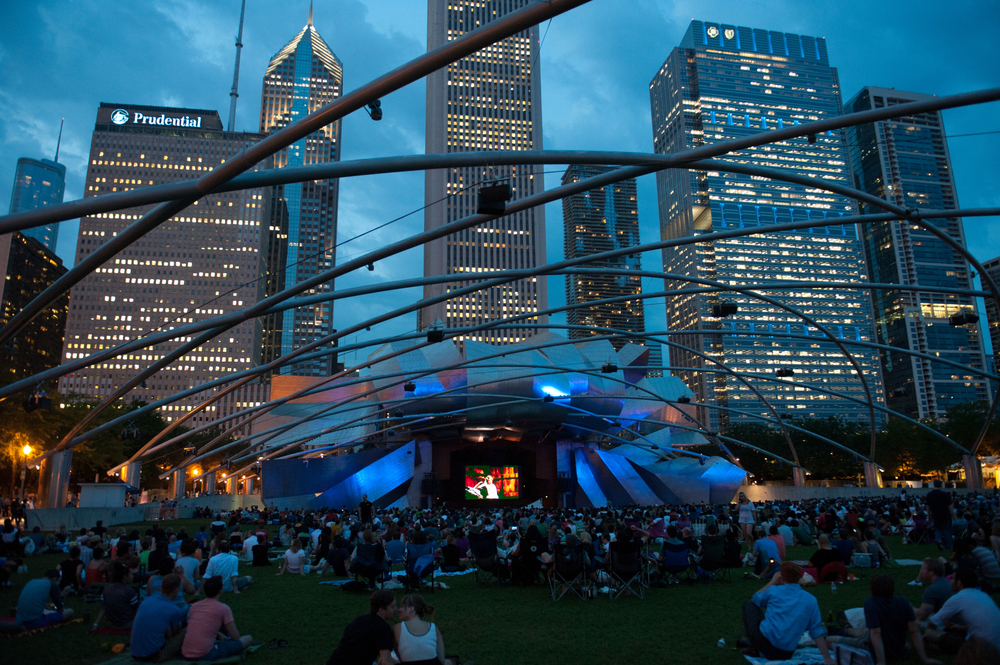 Millennium Park Summer Film Series