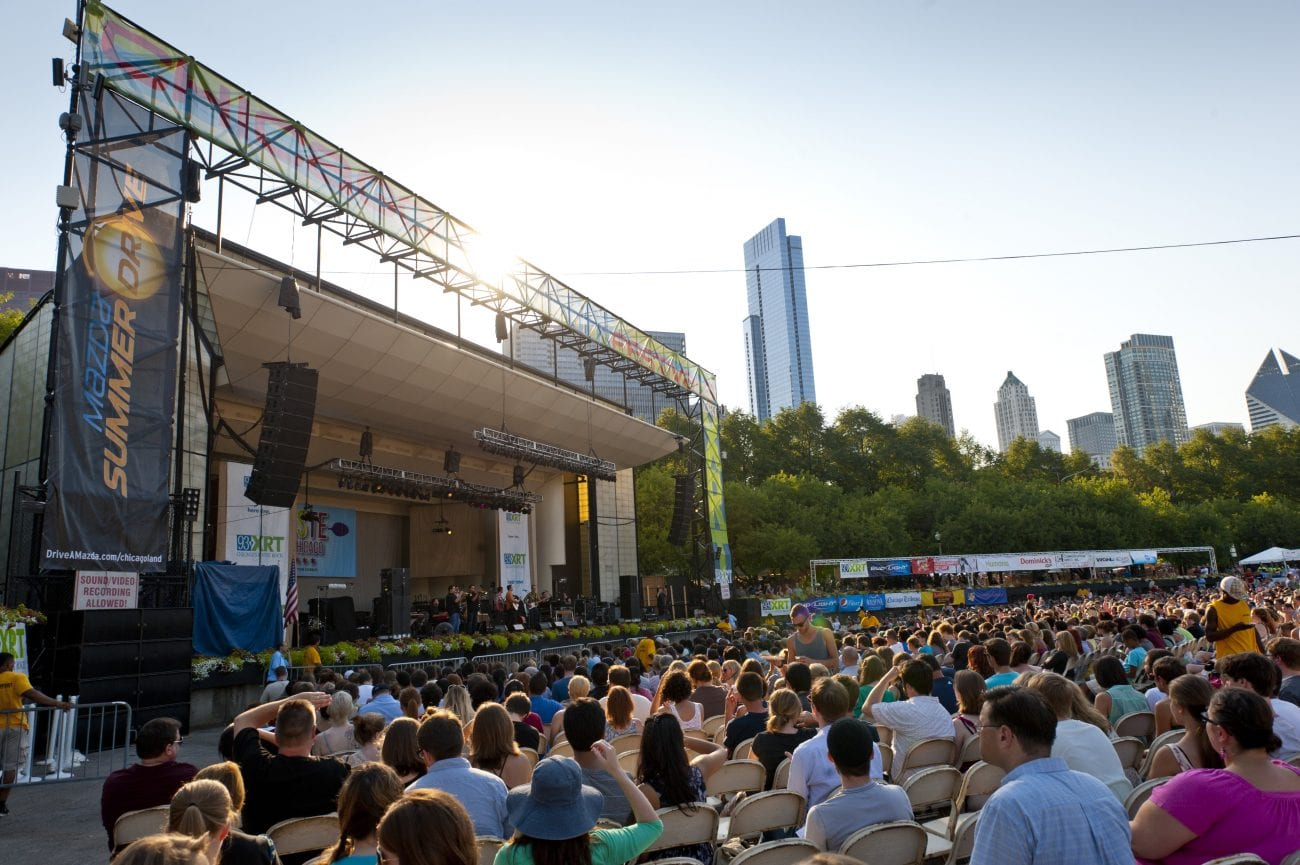 taste of chicago Downtown — the taste of chicago is returning to grant park this week with dozens of familiar food stands and food trucks as well as 17 newcomers.