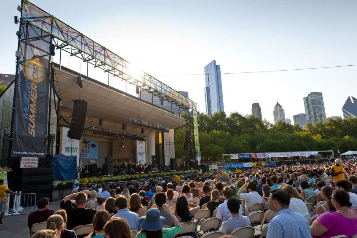 taste of chicago 2017 music lineup