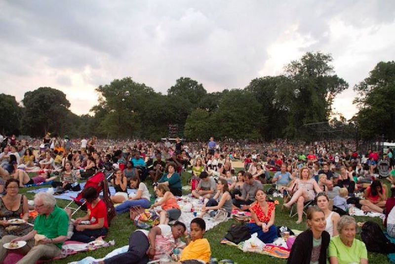 nyc free summer movies