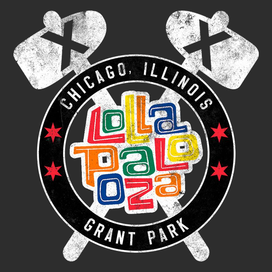 blackhawks lollapalooza t-shirt