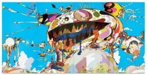 Takashi Murakami, Tan Tan Bo Puking - a.k.a. Gero Tan, 2002. Acrylic on canvas mounted on board.