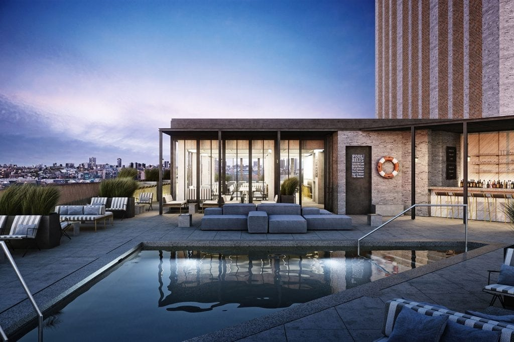 best rooftop pools chicago