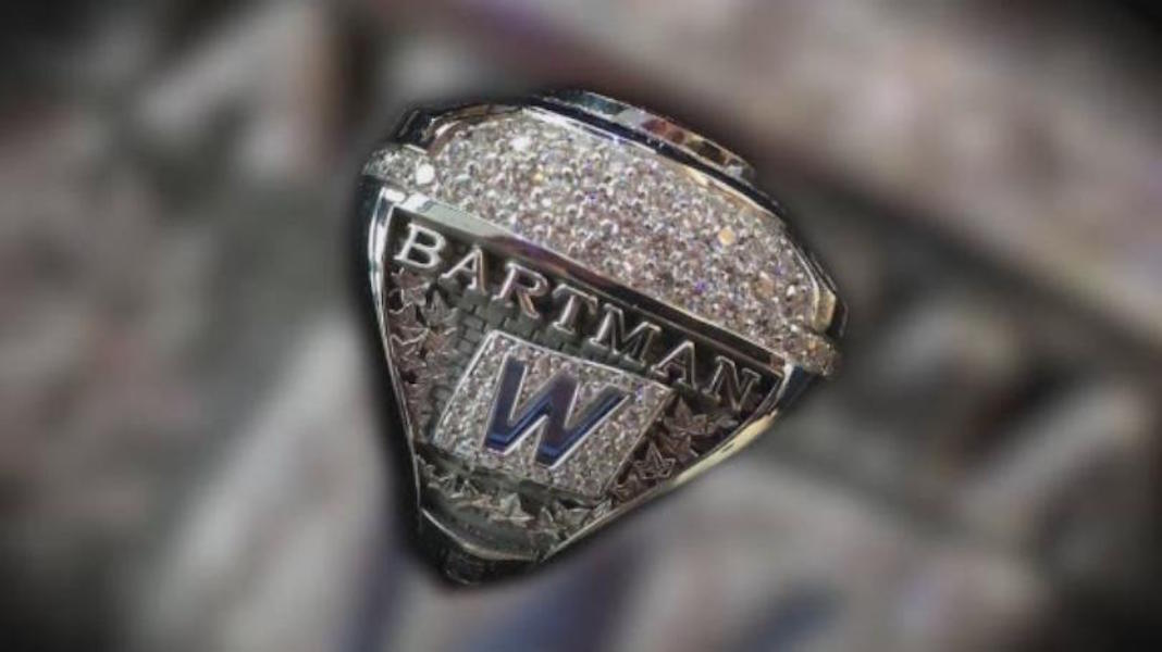 steve bartman world series ring