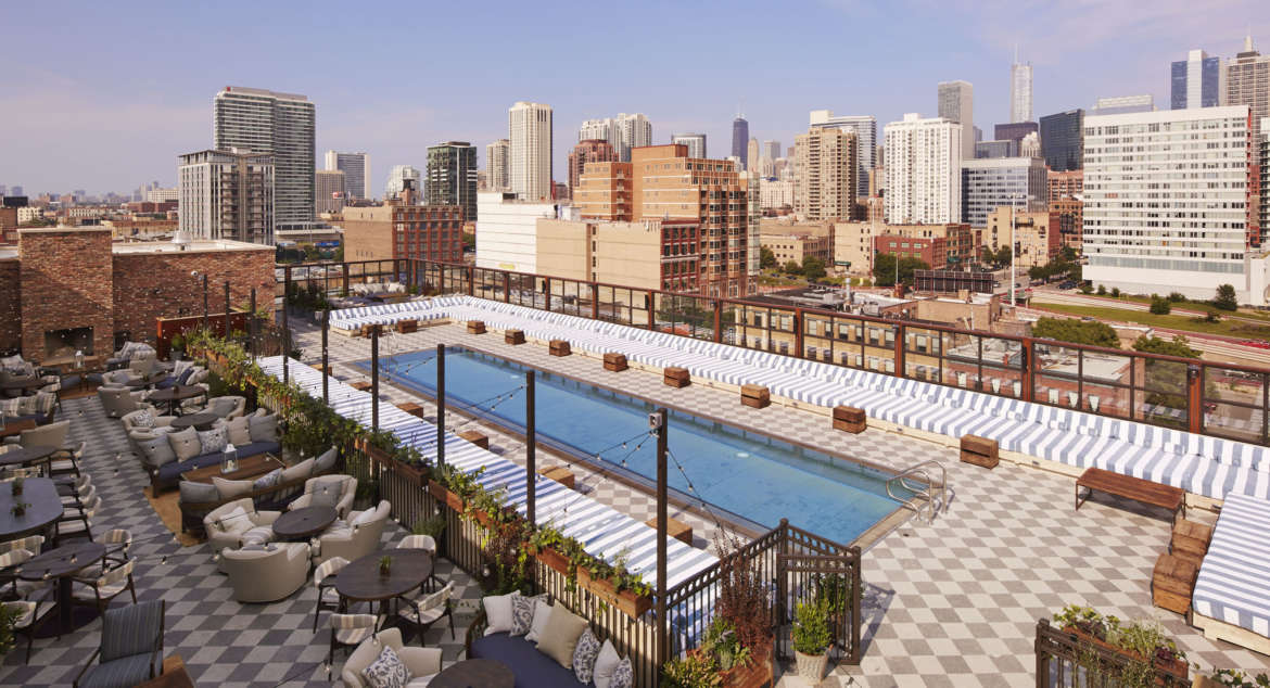 the 5 best rooftop pools in chicago urbanmatter