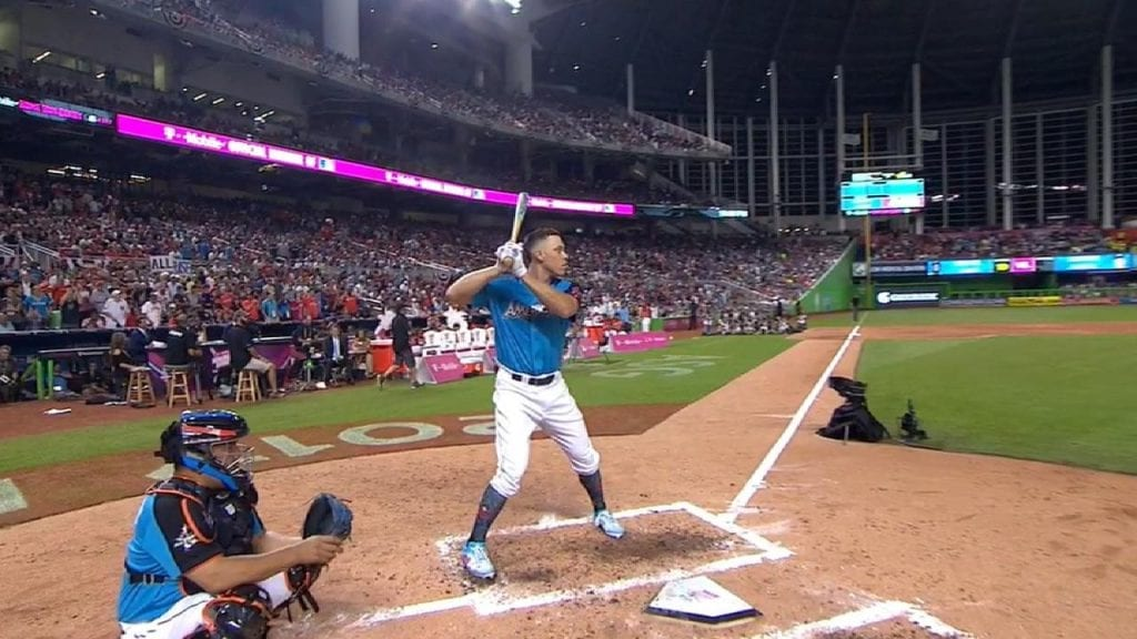 aaron judge home run derby