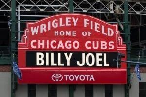 billy joel wrigley field