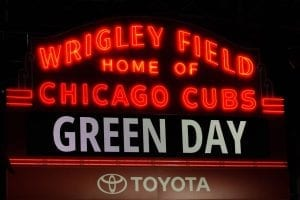 Green Day at Wrigley Field