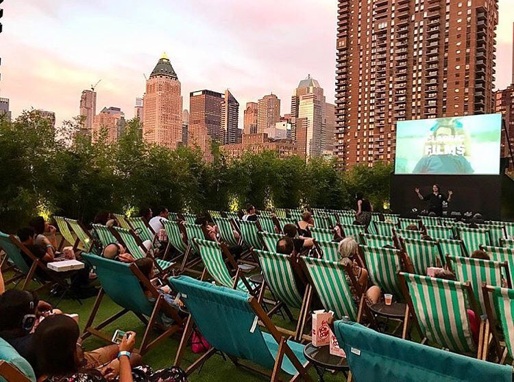 Rooftop Cinema Club NYC - Yotel