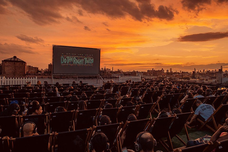 Rooftop Cinema Club NYC