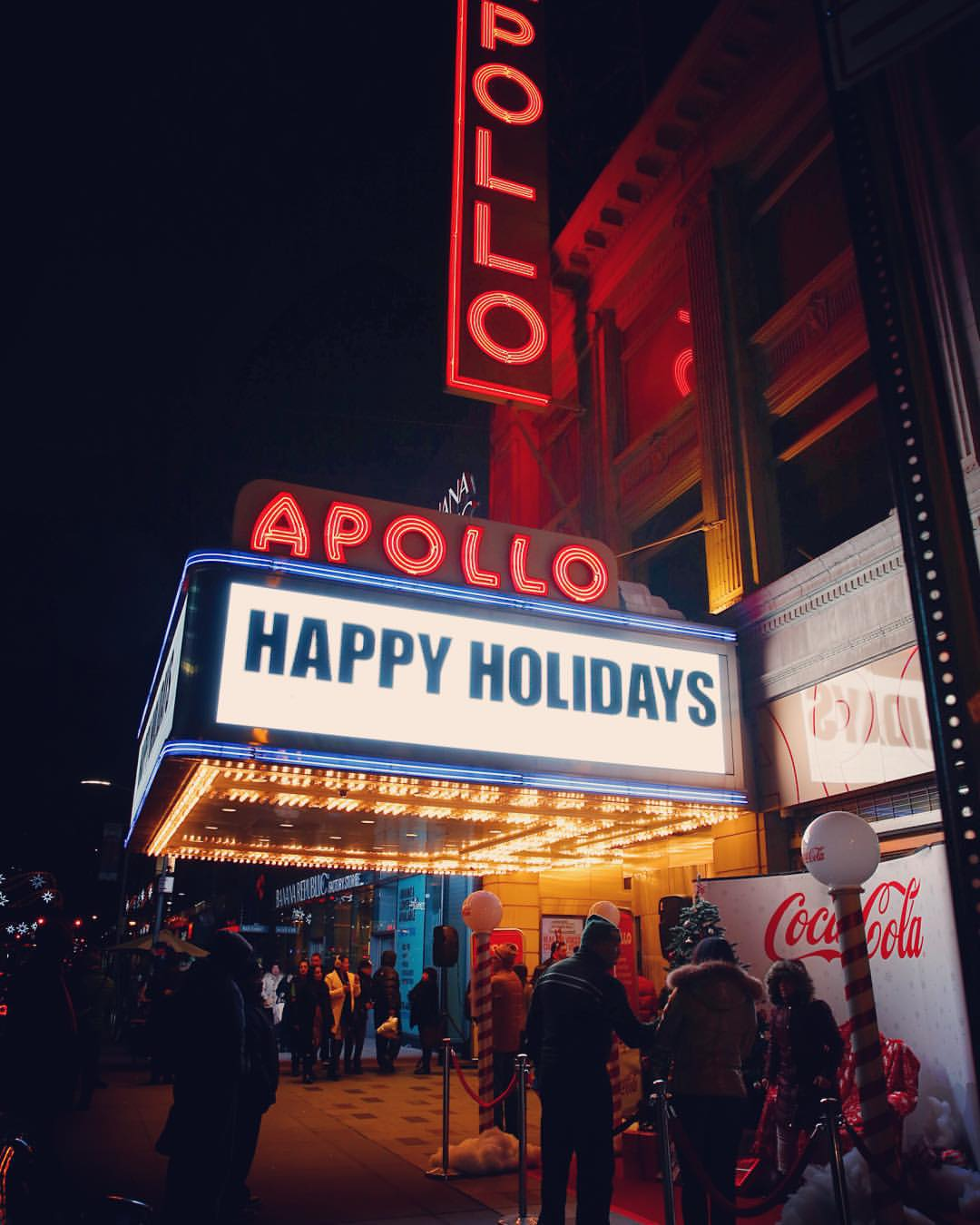 What to do in NYC December 2017 - Apollo Theater Holiday Special