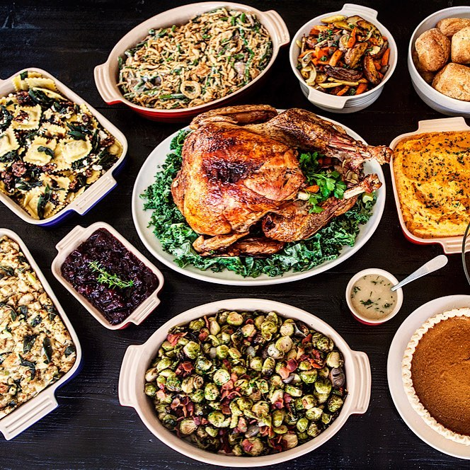 Thankgiving Dinner Takeout