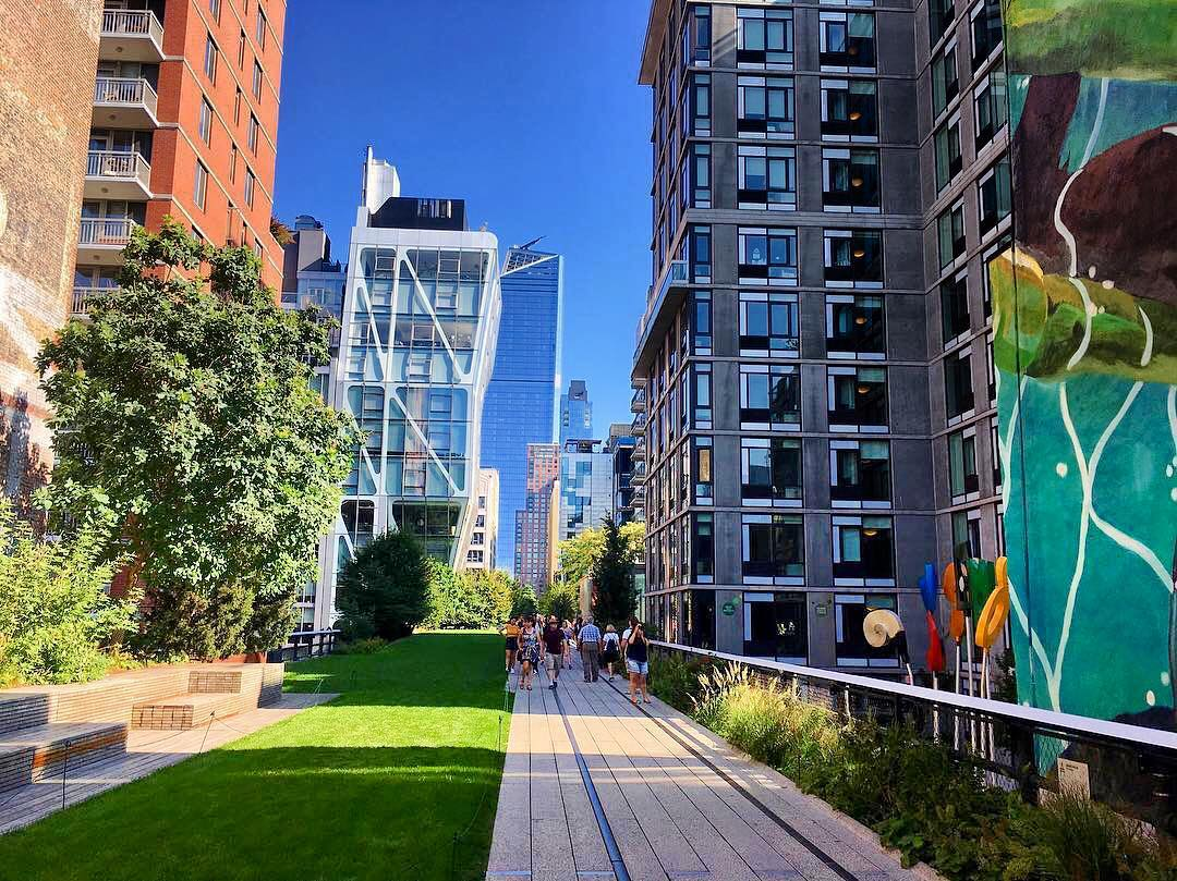 Underrated Landmarks in New York - The High Line