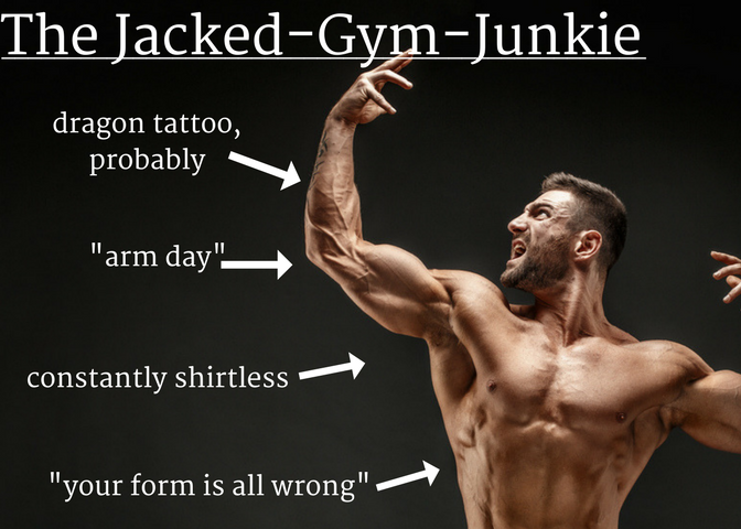 11 guys you'll meet in chicago - gym junkie