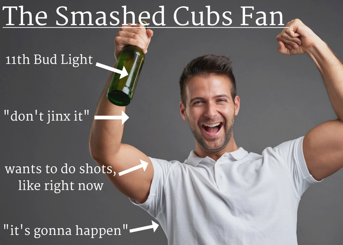 The Smashed Cubs Fan